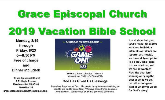 VBS 2019 FLYER GAME ON