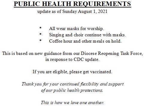 2021 0801 PUBLIC HEALTH REQS