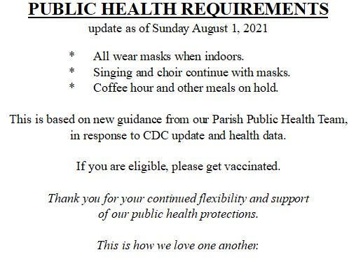 2021 0919 UPDATED PUBLIC HEALTH REQUIREMENTS